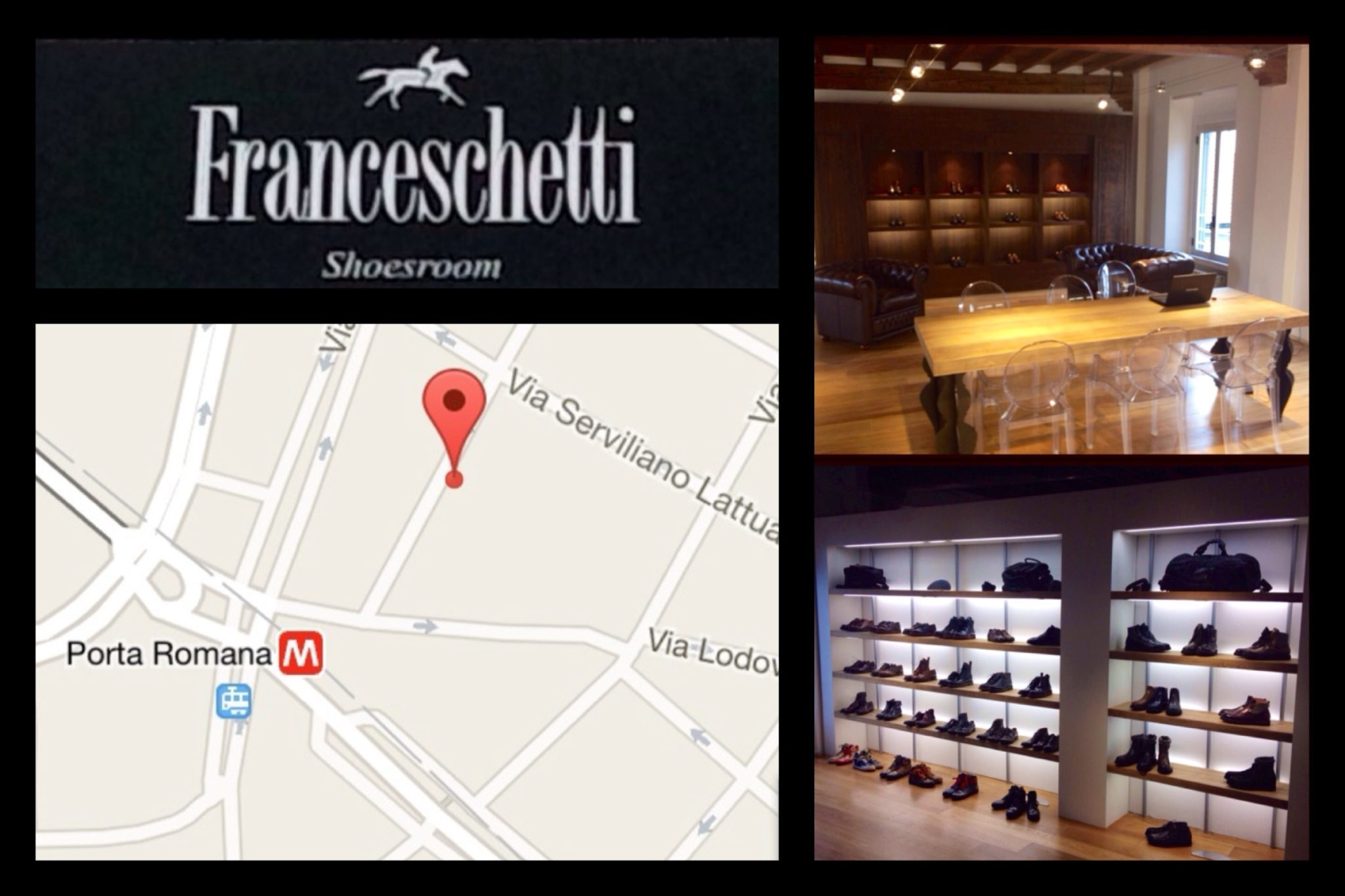 Franceschetti showroom