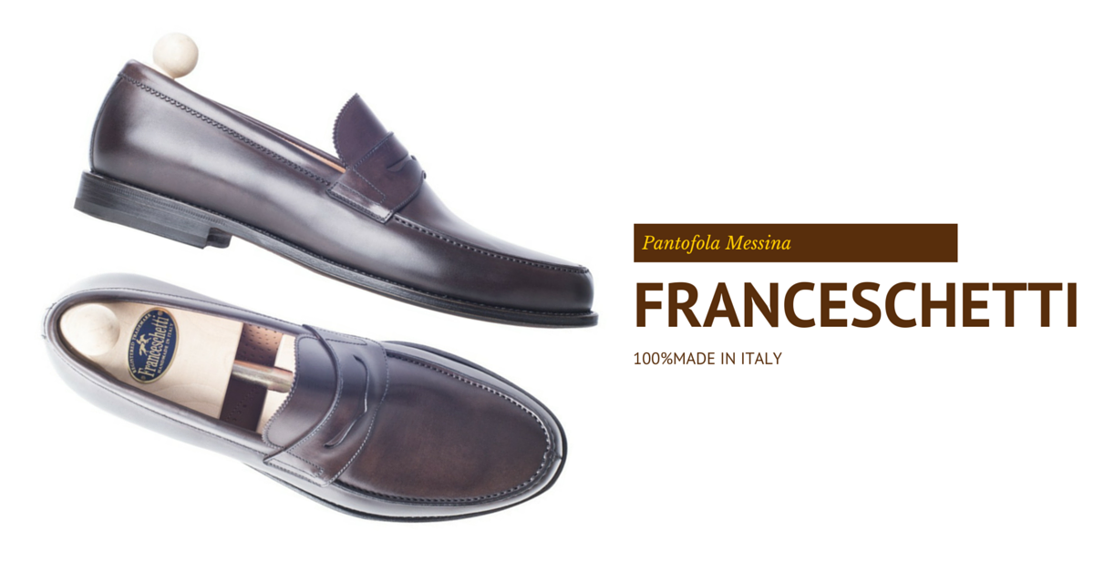 Loafers Messina Franceschetti in dark brown leather