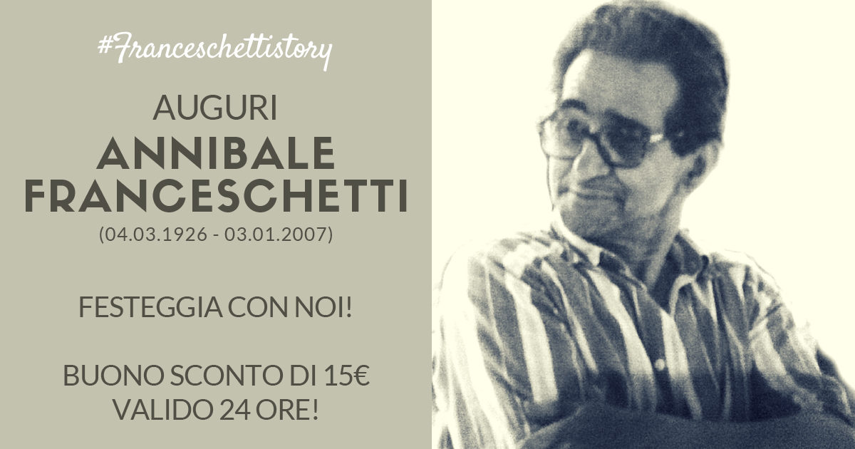 Handmade in Italy: compleanno Annibale Franceschetti