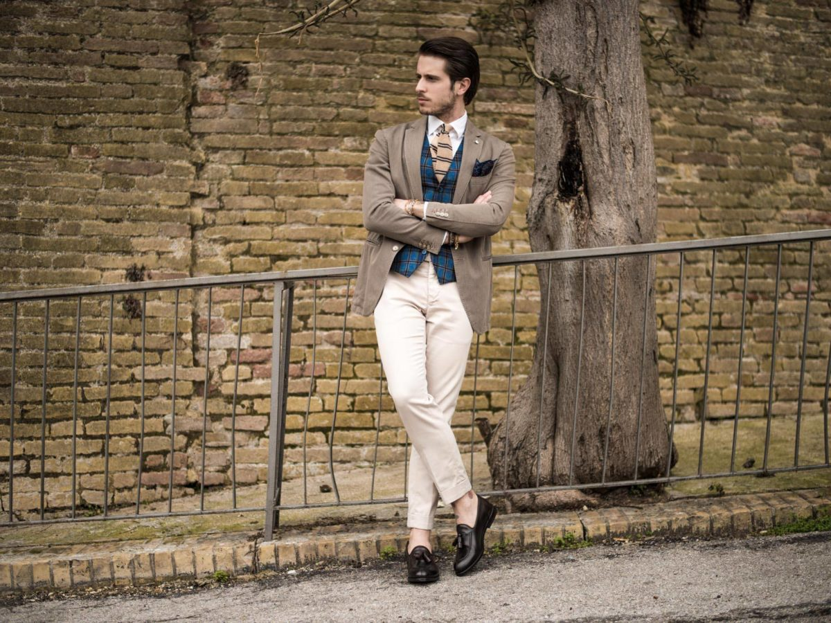 How to match colors:outfit Marco Taddei loafers Franceschetti