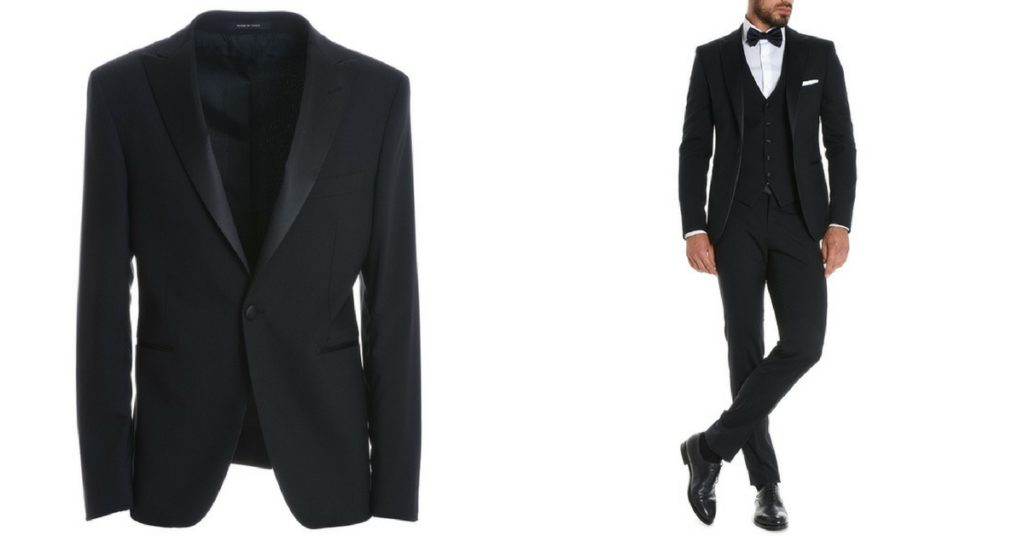 man suit: blue and black the best colors for wedding