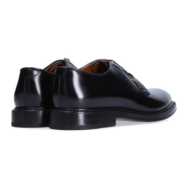 scarpa derby nera by Franceschetti shoes