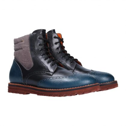 Stivaletto blu Pi50 by Franceschetti shoes