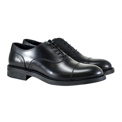 Francesina New dandy nera by Franceschetti shoes