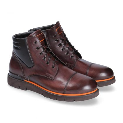 Stivaletti pelle polacco Courmayeur by franceschetti shoes
