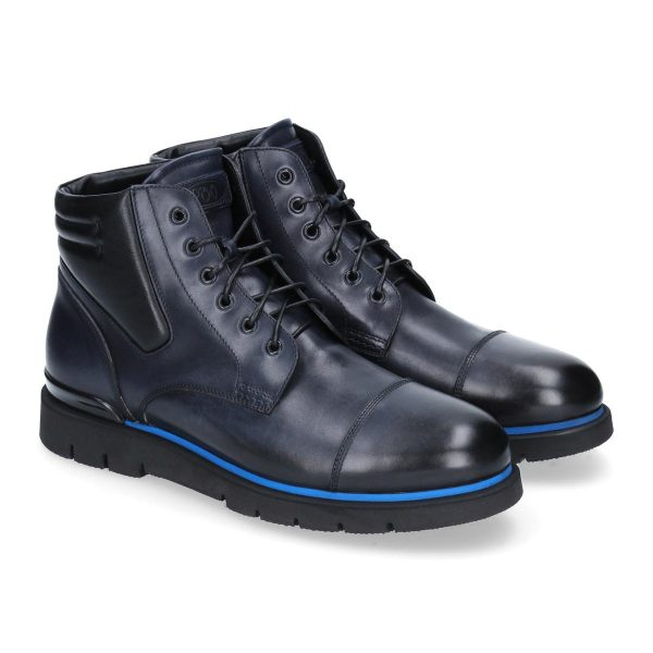Polacchine blu Courmayeur by Franceschetti shoes
