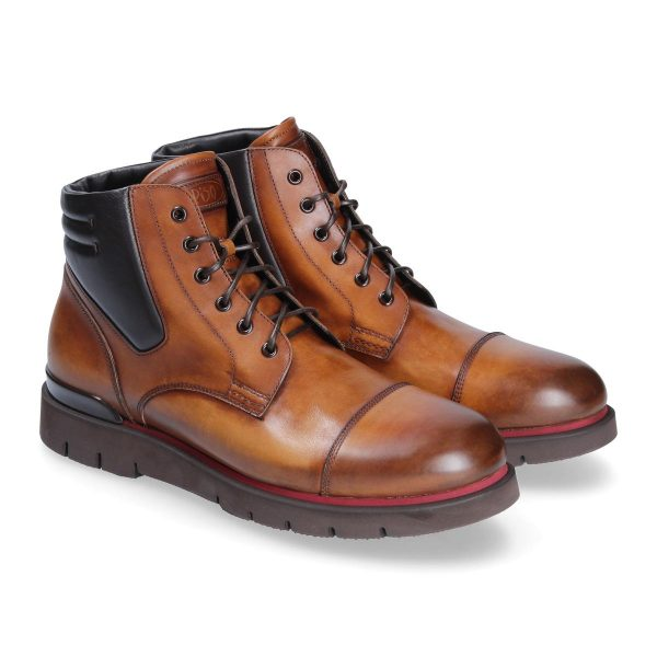 Stivali cuoio Polacco Courmayeur by Franceschetti shoes