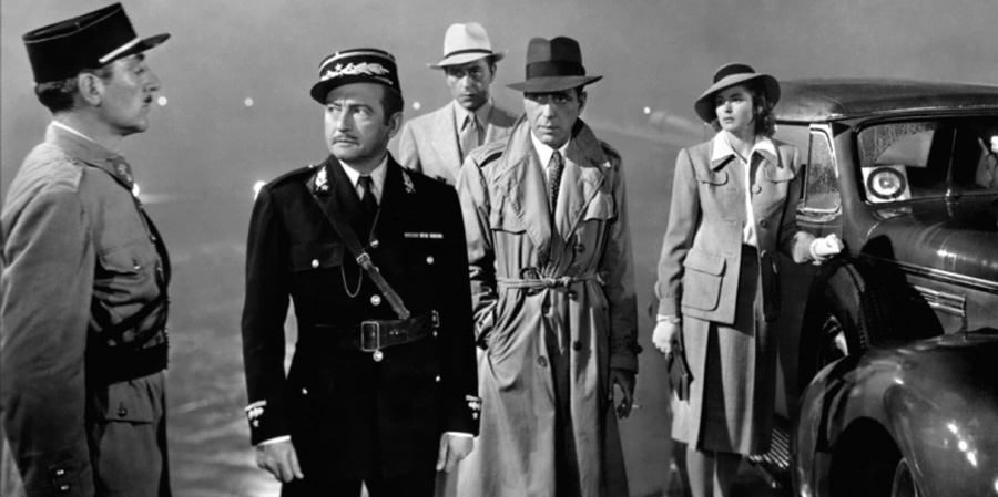 Trench-coat Casablanca