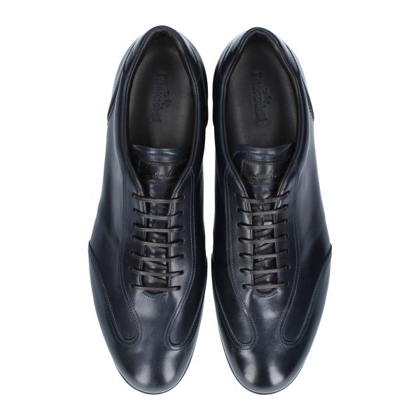 Francesina Vicenza blu by Franceschetti shoes