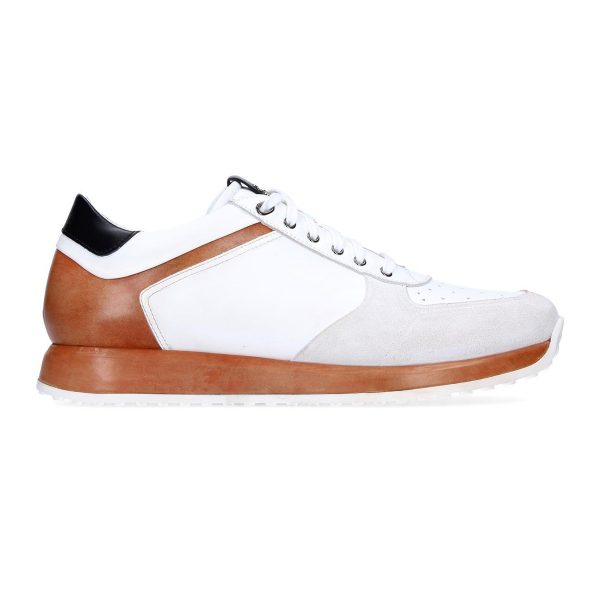 Sneaker Raiden White and orange