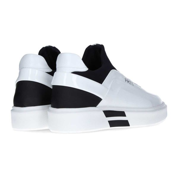 Black and white sneaker